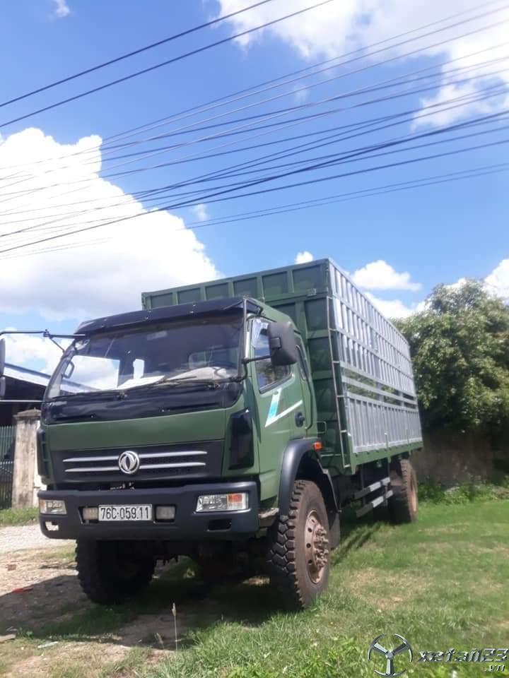 Cần bán xe Việt Trung 6,8 tấn đời 2015 thùng mui bạt giá chỉ 545 triệu