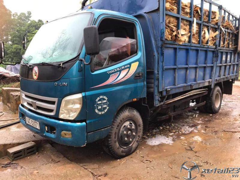 Bán Thaco Ollin 345 tải trọng 3,25 tấn sx 2011 thùng mui bạt giá 190 triệu