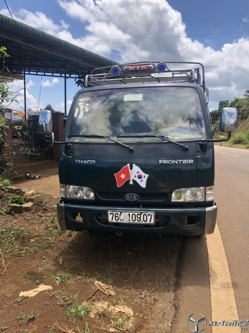 Bán Thaco K165 2,4 tấn đời 2017 , đăng kí năm 2018 thùng mui bạt