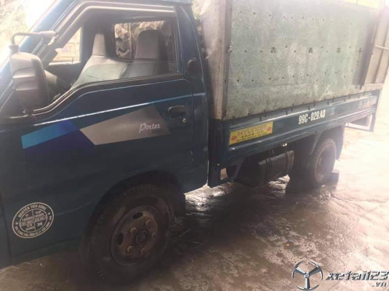 Thanh lý gấp xe Hyundai Porter 1,25 tấn đời 1998 thùng mui bạt giá 50 triệu