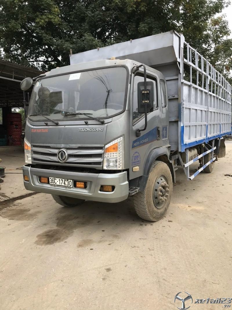 Bán xe Trường Giang 9,6 tấn đời 2016 thùng mui bạt