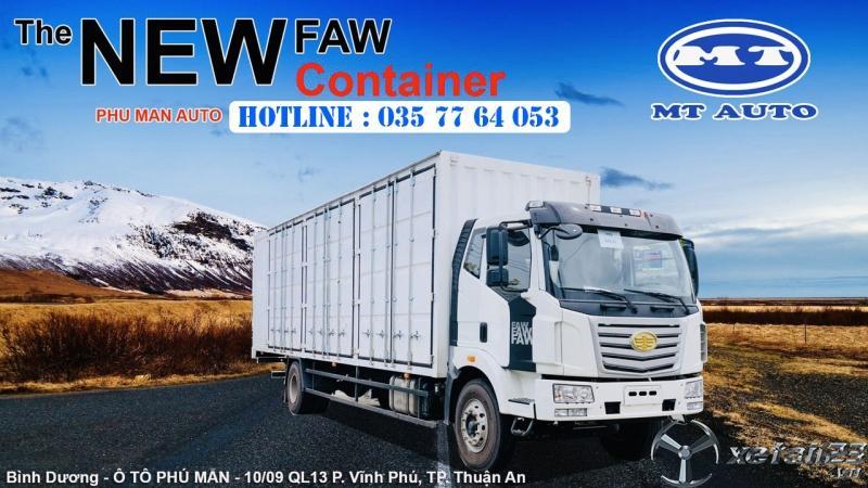 xe tải 6.7 tấn thùng dài 10 mét thiết kế chở pallet gỗ , linh kiện điện tử, mốp xốp,bao bì giấy