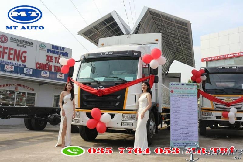 xe tải 8 tấn 7 chở ba lếch , hàng linh kiện , mốp xốp tại bình dương