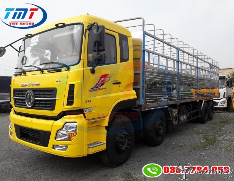 xe tải 8 tấn hoàng huy thùng dài 9m 5 chuyên chở hàng pallet