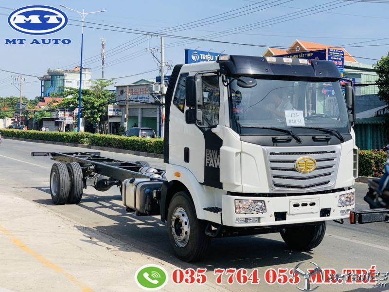 xe tải 8 tấn thùng kín chở pallet , bao bì giấy , nước ngọt -MT AUTO
