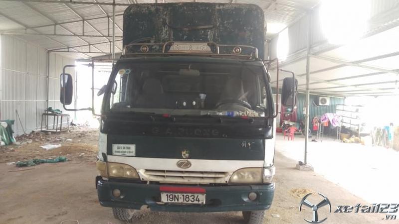 Bán gấp xe Giải phóng 3,45 tấn đời 2009 thùng mui bạt giá chỉ 70 triệu