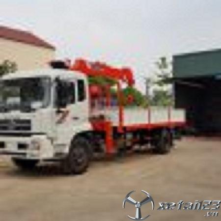 Bán xe cẩu tự hành Kanglim 5 tấn gắn trên nền xe Dongfeng Hoàng Huy B180