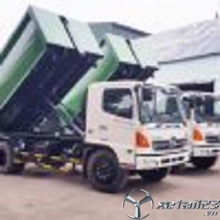 Bán xe chở rác Hino FG8JJSB 12 khối mới 100% , hỗ trợ cho vay trả góp