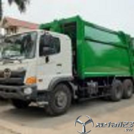 Bán xe ép chở rác Hino 18 khối mới 100% giá tốt nhât