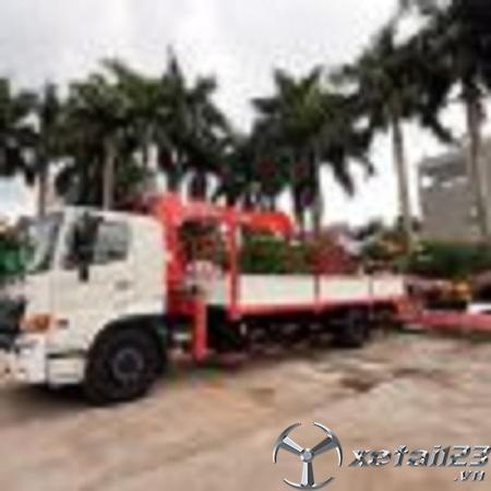 Bán xe Hino FG gắn cẩu tự hành Kanglim KS1056  5 tấn mới 100% chất lượng cao