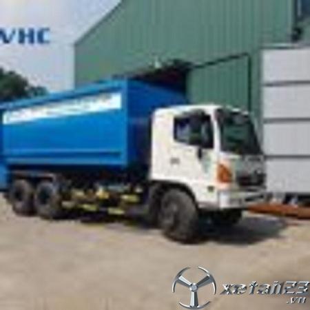 Xe chở rác 22 khối Hino FM mới 100% , hỗ trợ cho vay trả góp lên đến 80%