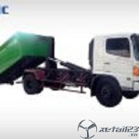 Xe chở rác Hino 6 khối chất lượng đỉnh cao , giá tốt nhất thị trường