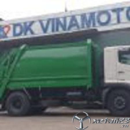 Xe ép chở rác Hino 14 khối chất lượng cao , hỗ trợ cho vay trả góp