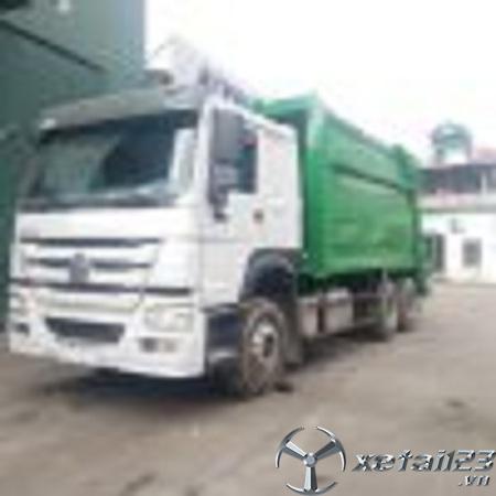 Xe ép chở rác Howo 18 tấn giá tốt nhất thị trường