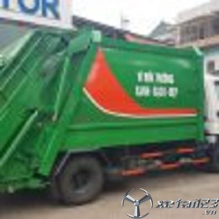 Xe ép chở rác Hyundai 9 khối chất lượng hàng đầu , giá rẻ nhất