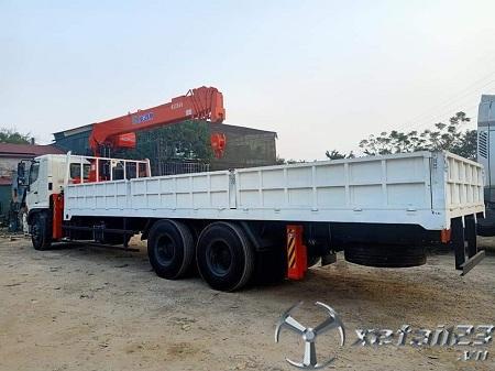 Xe Hino FM gắn cẩu tự hành Kanglim 8 tấn chất lượng cao , giá thành hợp lý nhất