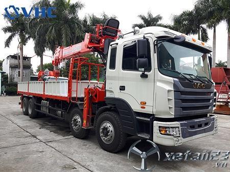 Xe Jac HFC gắn cẩu tự hành Kanglim 10 tấn mới 100% , chất lượng tốt