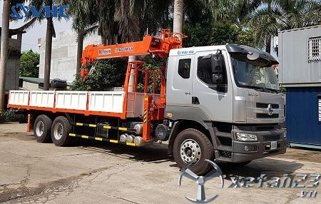 Xe tải Chenglong gắn cẩu tự hành Kanglim 8 tấn mới 100% giá tốt nhất