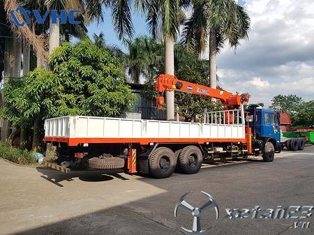 Xe tải Veam V1100 gắn cẩu tự hành Kanglim 8 tấn mới 100% chất lượng đỉnh cao