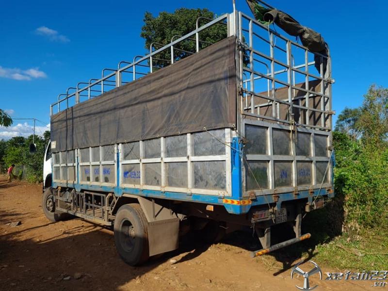 Cần bán xe Việt Trung 6,3 tấn  đời 2014 thùng mui bạt giá rẻ nhất