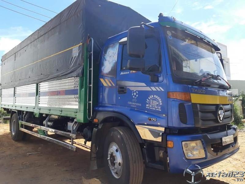 Rao bán xe Thaco Ollin C160 9,3 tấn sản xuất năm 2016 thùng mui bạt giá tốt nhất
