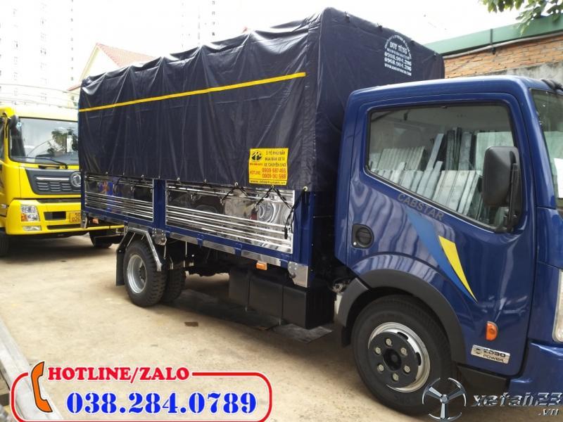 Mua xe tải 1,9 tấn thùng bạt trả góp