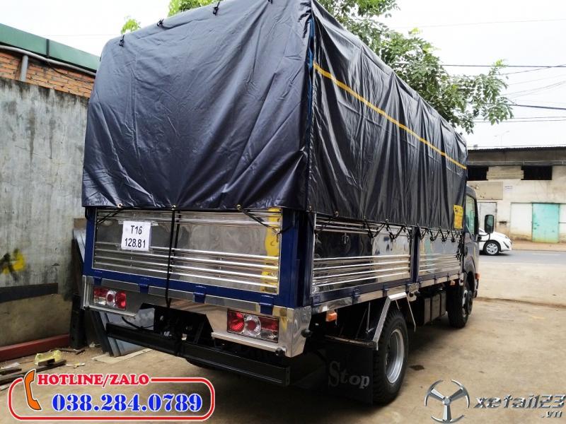 Mua xe tải 1,9 tấn thùng bạt trả góp ở đâu