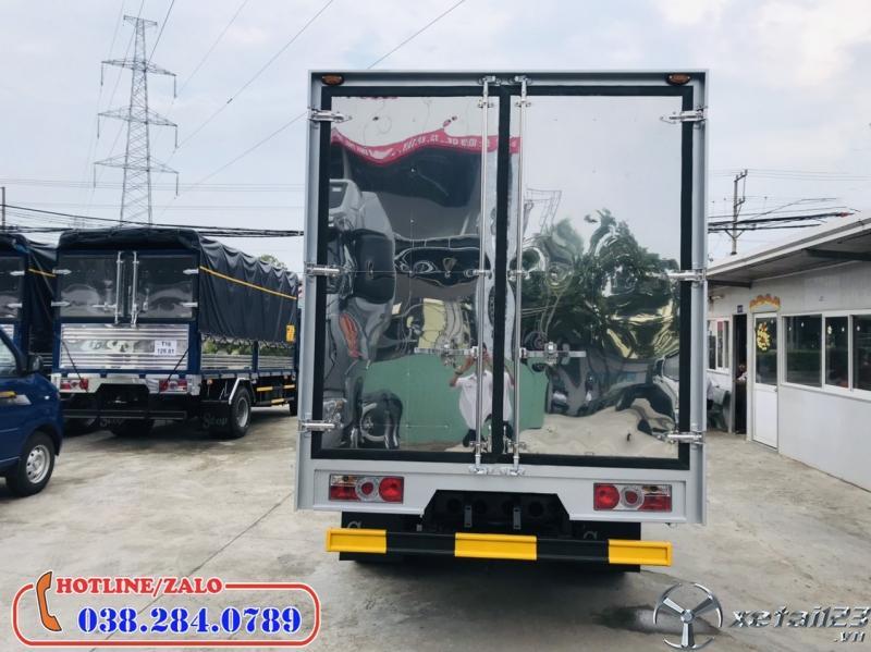 Mua xe tải 1,9 tấn thùng kín trả góp