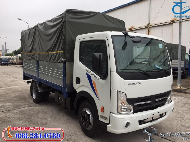 Xe tải 1,9 tấn thùng bạt tốt nhất hiện hay