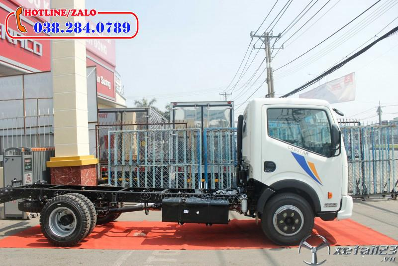 Xe tải 3,5 tấn thùng kín tốt nhất hiện nay