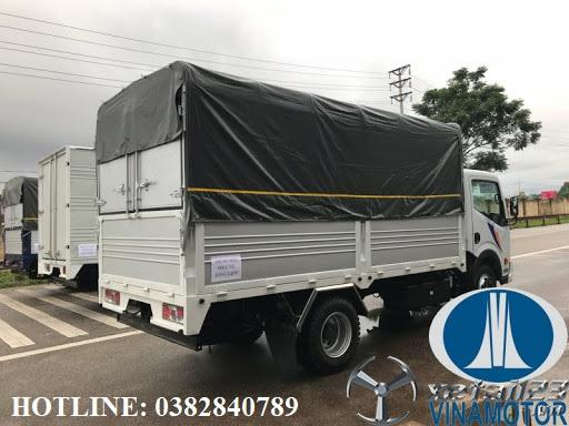 Xe tải NISSAN Thùng bạt 1T9 giá rẻ