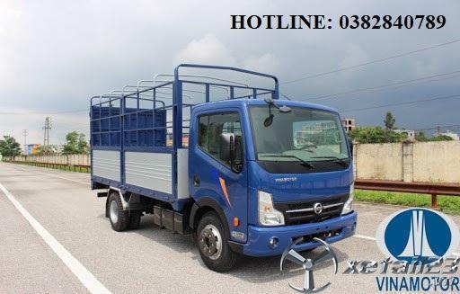 Xe tải 1,9 tấn thùng bạt giá tốt nhất trên thị trường