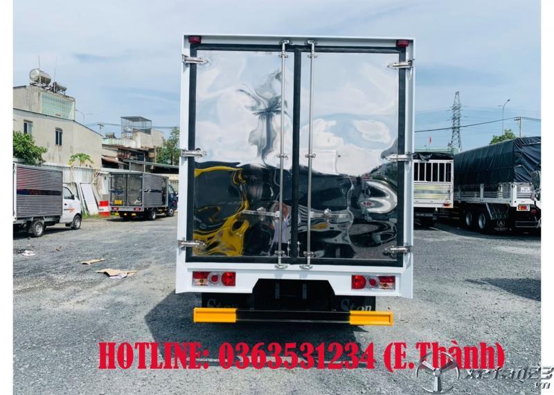 Bán xe tải 1 tấn 9,thùng kín 4m3. Tặng ngay 15tr tiền mặt cho khách hàng tới xem xe