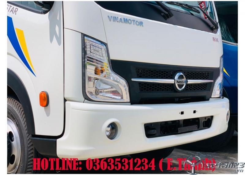 Bán xe tải 3t5 động cơ dầu, thùng kín 4m3 giá tốt nhất hiện tại