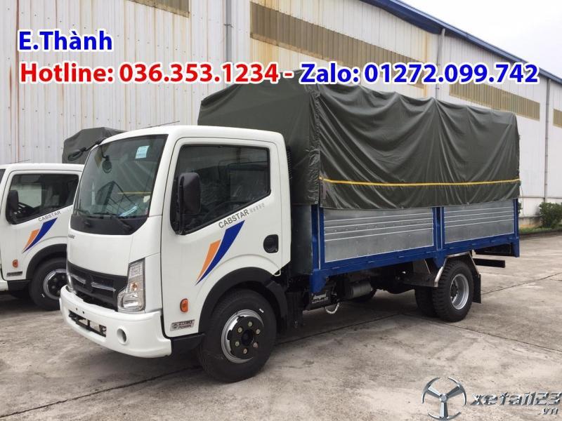 Bán xe tải Vinamotor Đồng Vàng 1t9, thùng dài 4m3
