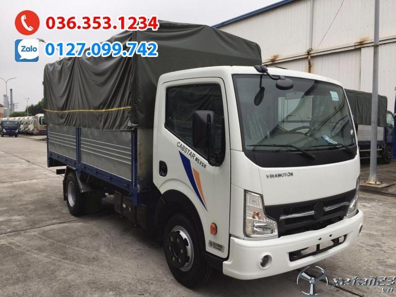Xe tải 3t5 thùng bạt 4m3, Động cơ Nhật Bản. Liên hệ ngay để nhận ưu đãi lớn tháng 12