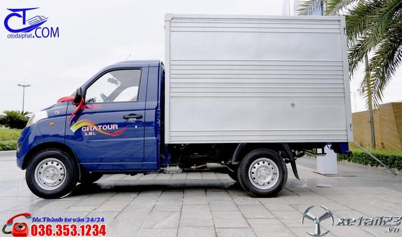 Xe tải Foton 820 Kg thùng Kín, trả trước 80tr nhận xe ngay.