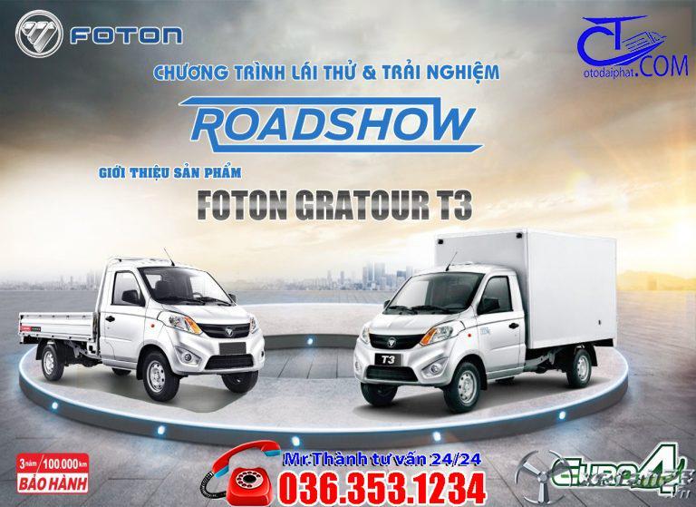 Xe tải Foton 990 Kg thùng lửng, Hỗ trợ trả góp lãi suất cực thấp