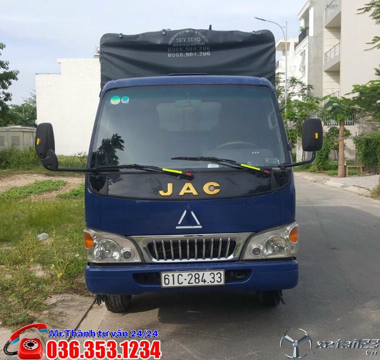 Xe tải JAC 2t4 - Đời 217 - Ga cơ. Tải 2t4. Xe nguyên zin, nguyên kiện