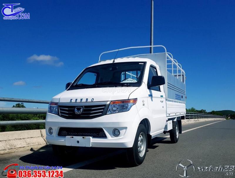 Xe tải nhỏ KENBO thùng bạt 990 kG, trả trước 80tr nhận xe, thủ tục nhanh gọn.