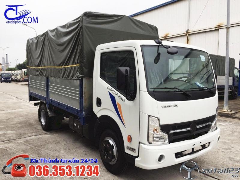 Xe tải Vinamotor 1t9 giá bao trọn chi phí lăn bánh,hỗ trợ chi phí 80% giá trị xe