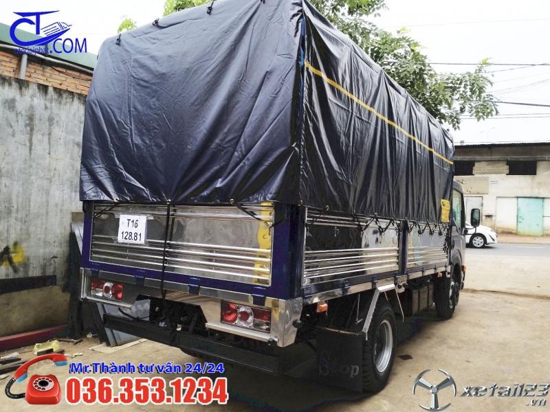 Xe tải Vinamotor Cabstar 1t thùng mui bạt. Liên hệ để nhận giá tốt nhất