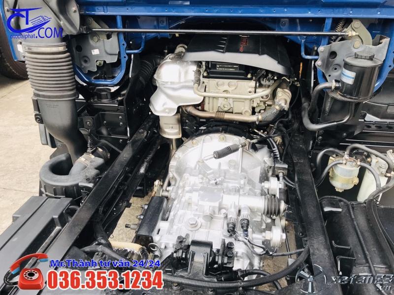 Xe tải Vinamotor Nissan 1t9 thùng bạt 4m3, động cơ số 1 tại Nhật Bản