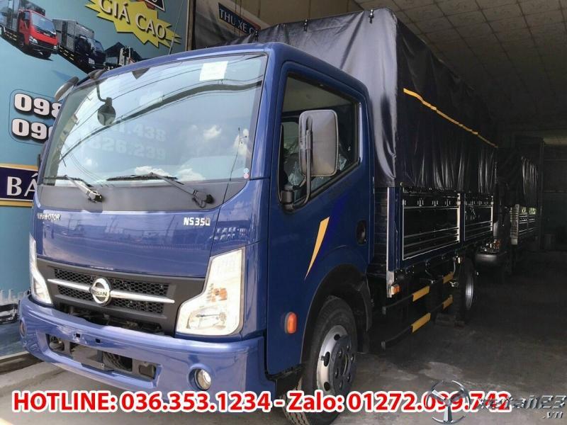 Bán xe tải Vinamotor 3.5 tấn.Thùng bạt dài 4m3, chỉ cần trả trước 100tr nhận xe, cùng những ưu đãi c