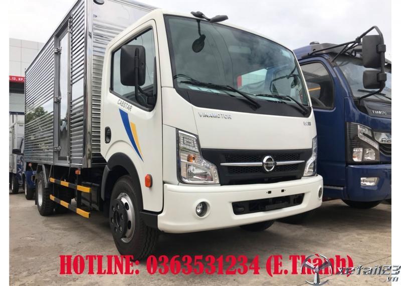 Bán xe tải Vinamotor cabstar 1,9T thùng kín dài 4m3 giá rẻ bất ngờ, cùng nhiều ưu đãi háp dẫn