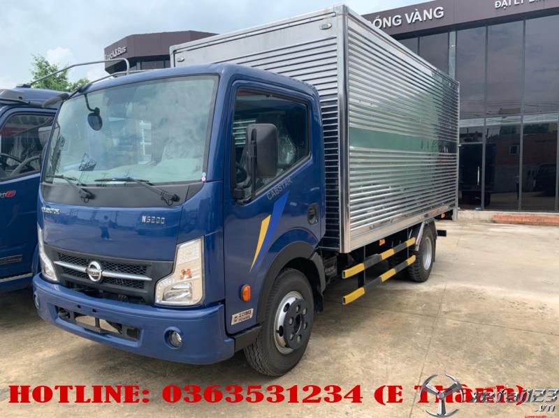 Bán xe tải vinamotor động cơ nissan 1t9 thùng kín 4m3
