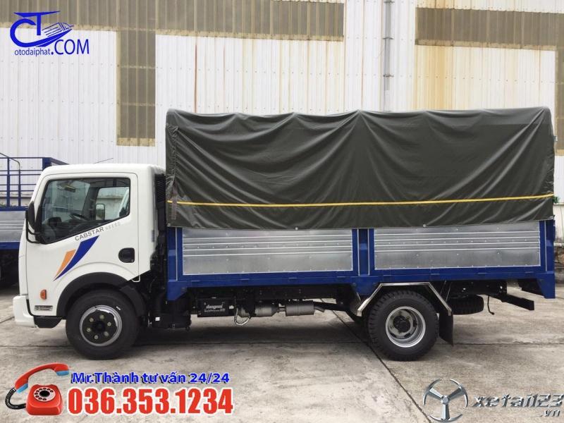 Xe tải 1t9 thùng bạt 4m3, giá tốt nhất thị trường hiện nay. Cam kết không phát sinh chi phí