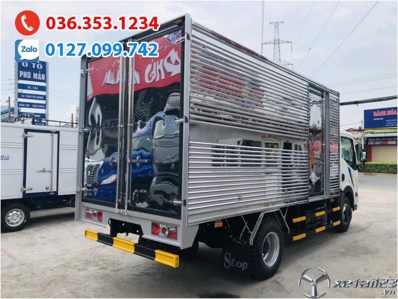 Xe tải 1t9 thùng bạt hiệu Vinamotor Nissan, trả trước 88tr nhận xe ngay