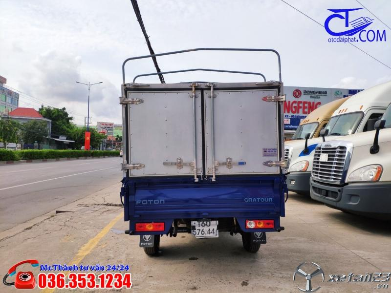 Xe tải Foton 850 Kg thùng mui bạt. Trả trước 80 tới nhận xe ngay