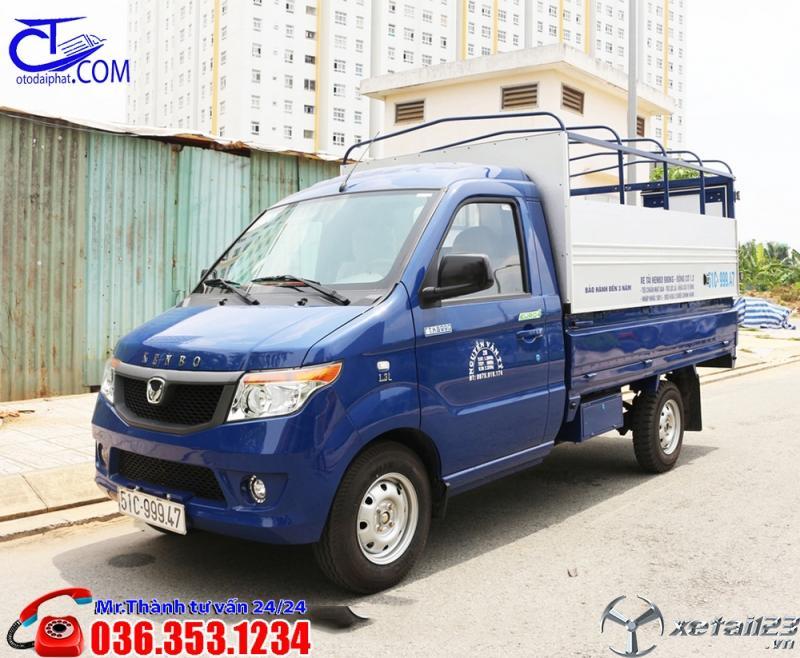 Xe tải KENBO với thiết kế nhỏ gọn, nhưng vẫn mang lại sựu tinh tế. Phù hợp di chuyển trong thành phố